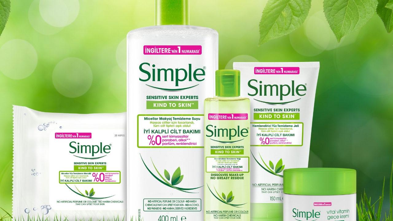 İyi kalpli bir cilt bakımı mümkün: Simple ile tanıştınız mı?