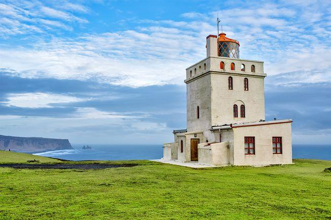 Dyrhólaey feneri — İzlanda