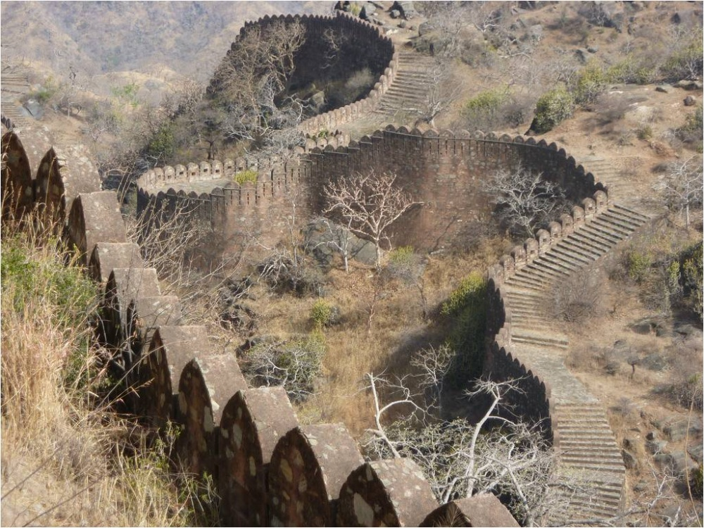 KumbhalgarhKalesi,Hindistan