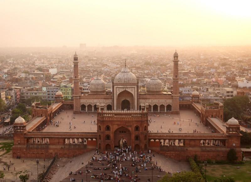 Jama Mescidi, Yeni Delhi, Hindistan