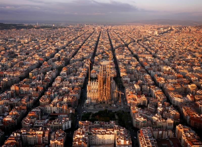 Sagrada Familia, Barselona, İspanya