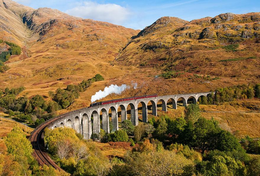 Glenfinnan Viyadüğü, İskoçya
