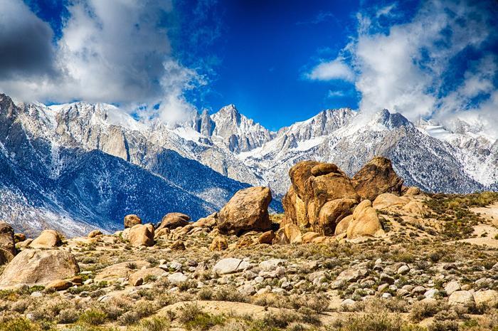 Whitney dağı, Kaliforniya