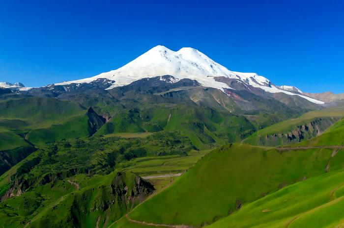 Elbrus Dağı, Rusya