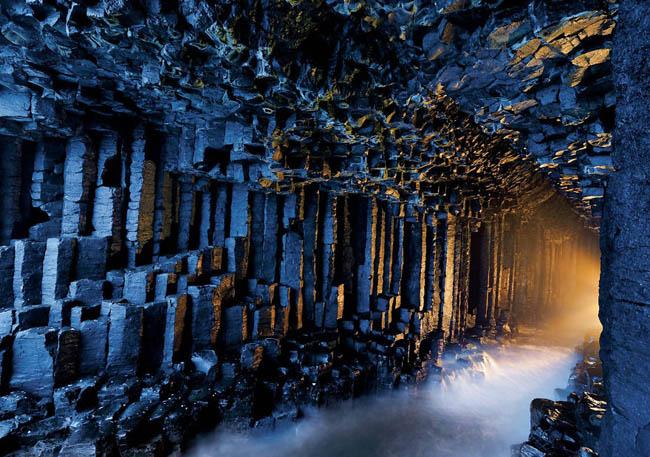 Fingals Mağarası, İskoçya
