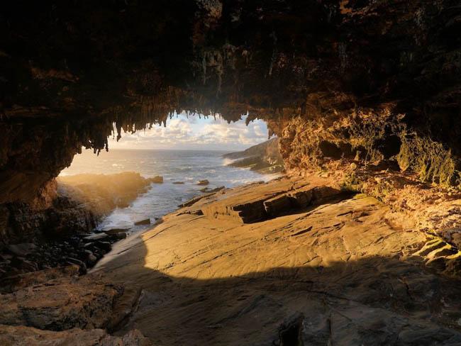 Kangaroo Adası Mağaraları, Avusturalya