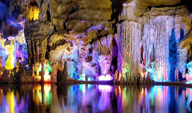 Reed Flute (Kamış Flütü) Mağarası, Çin