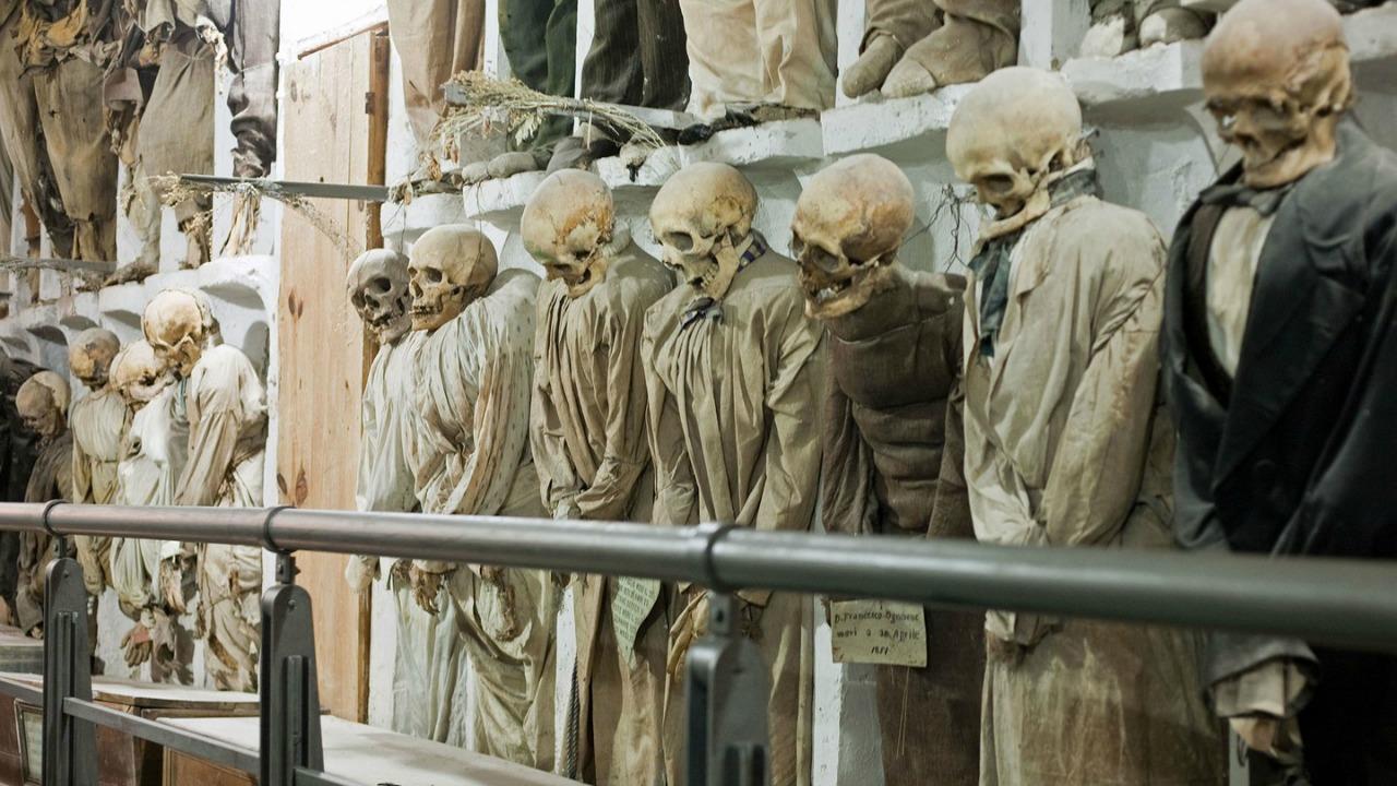 Capuchin Yeraltı Mezarları, Palermo, İtalya