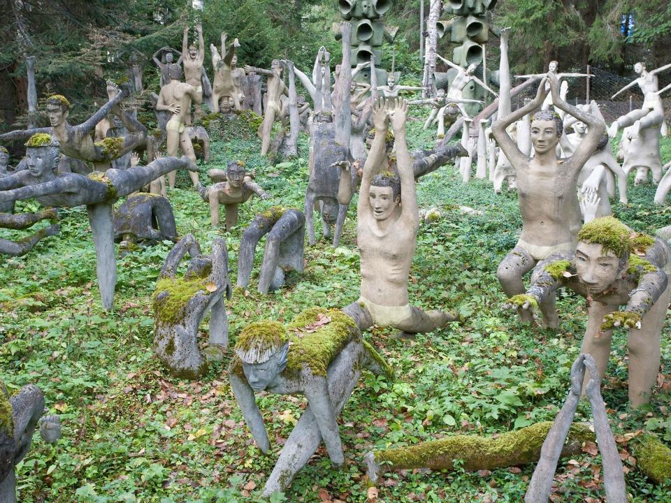 Veijo Rönkkönen Heykel Bahçesi, Parikkala, Finlandiya