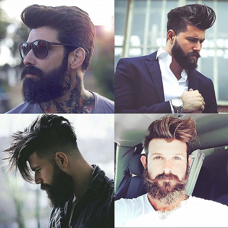 erkek sakal modelleri elvis sac kesimi sakal
