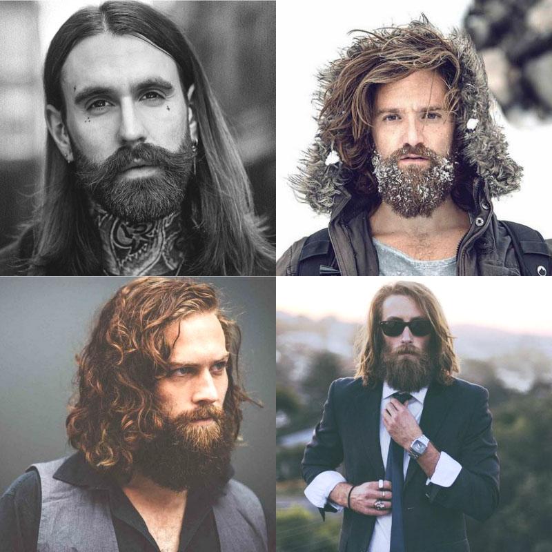 erkek sakal modelleri uzun sac sakal