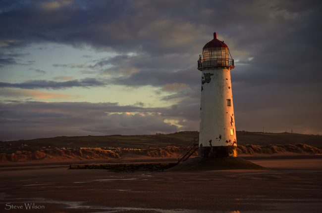 lighthouse at talacre beach
