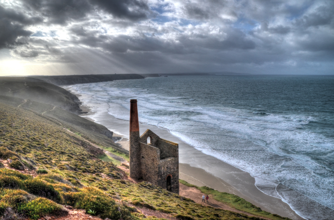 tin mine near chapel porth