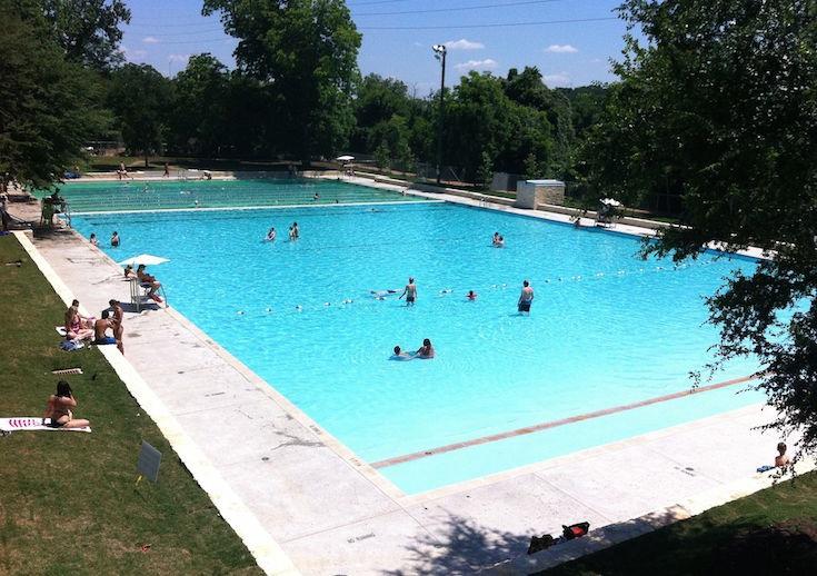 Deep Eddy Pool, Austin, Teksas
