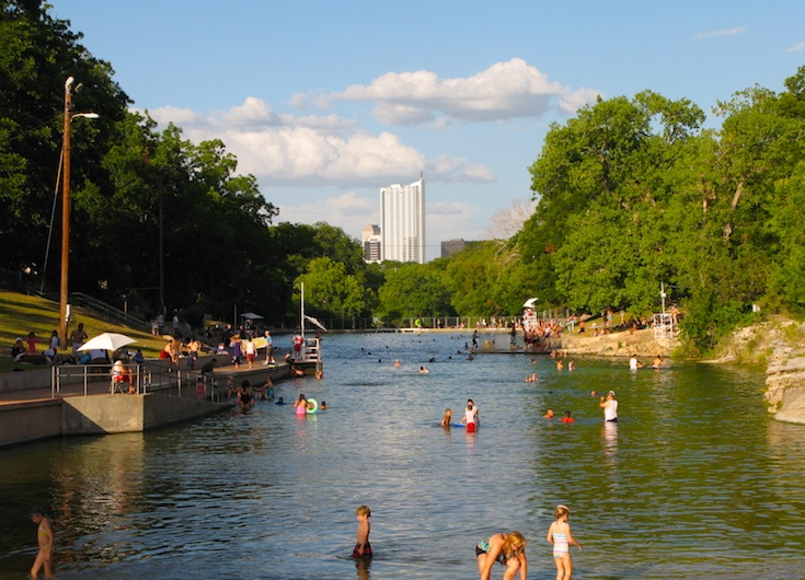Barton Springs Pool, Austin, Teksas