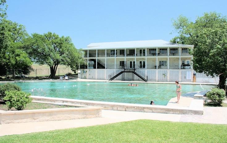 Hancock Springs Pool, Lampasas, Teksas