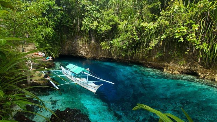 Hinatuan Nehri, Filipinler