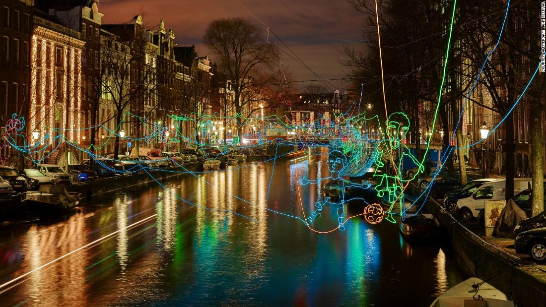 AmsterdamLightFestival Hollanda