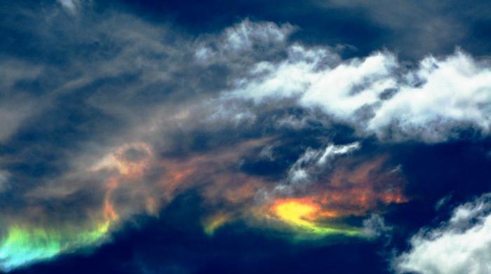 cloud iridescence arizona