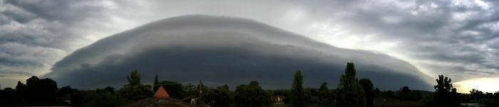 shelf cloud avusturalya