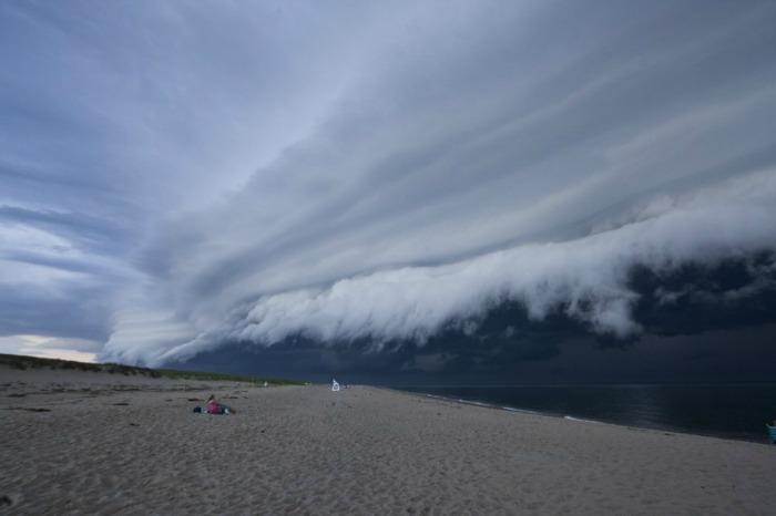shelf cloud cape cod