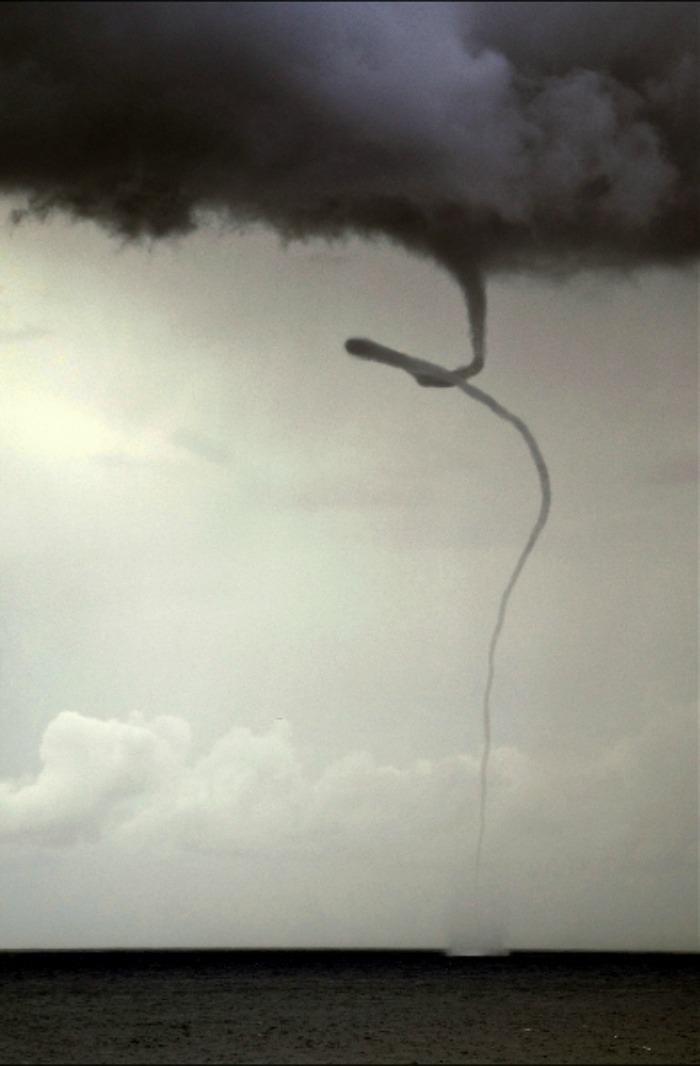 waterspout ispanya