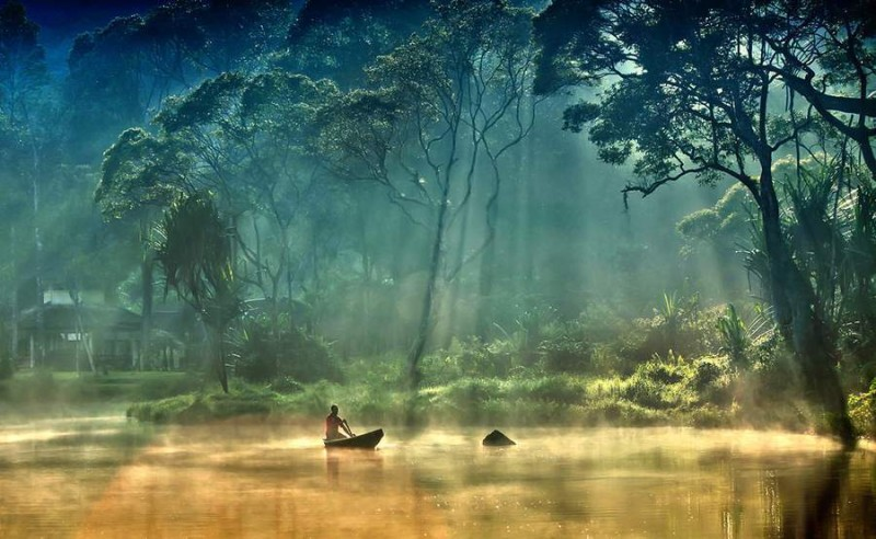 Gunung Tujuh Gölü, Endonezya