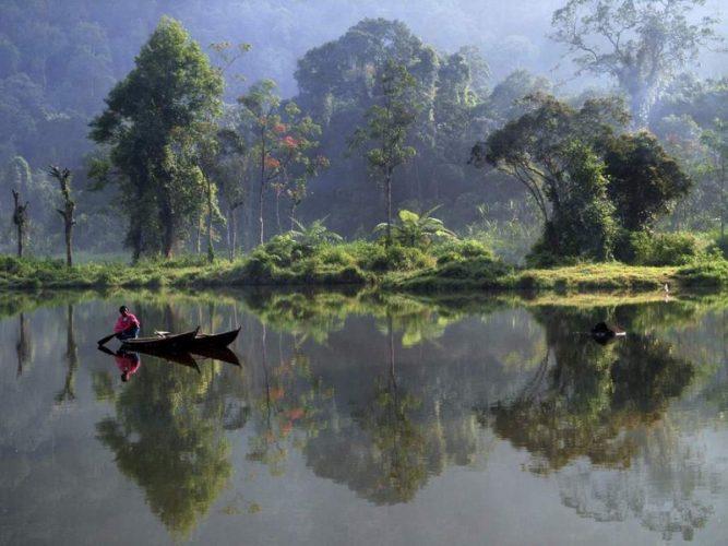 Gunung Gölü, Endonezya