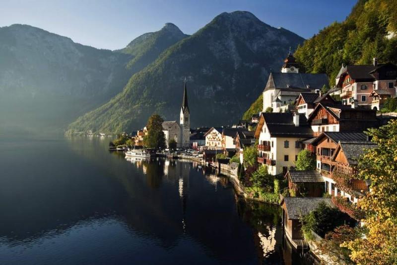 Hallstatt Gölü, Avusturya
