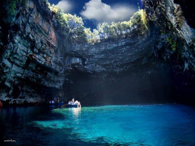 Melissani Gölü, Yunanistan