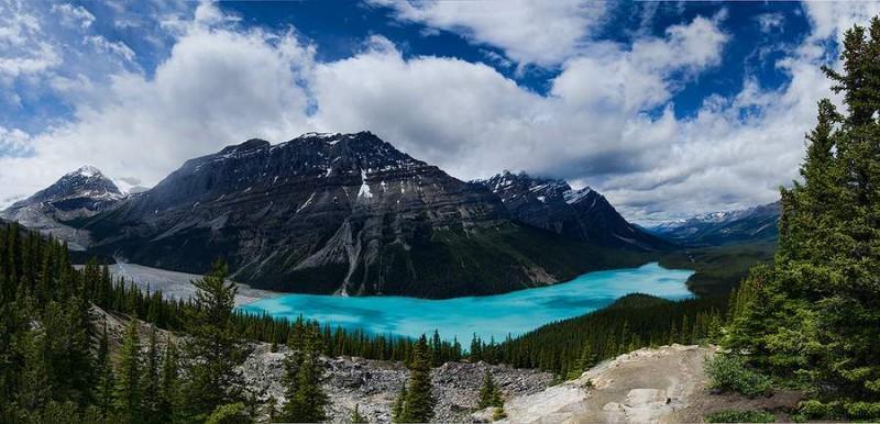 Peyto Gölü, Kanada