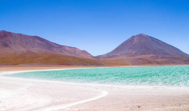 Laguna Verde Gölü, Bolivya