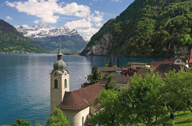 Lucerne Gölü, İsviçre