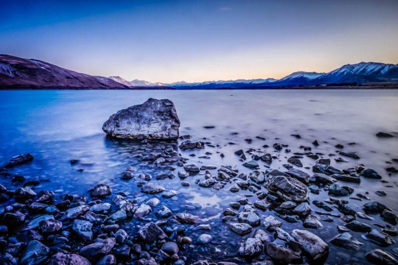 Tekapo Gölü, Yeni Zelanda