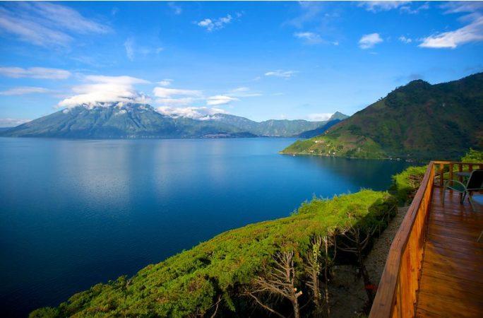 Atitlan Gölü, Guatemala