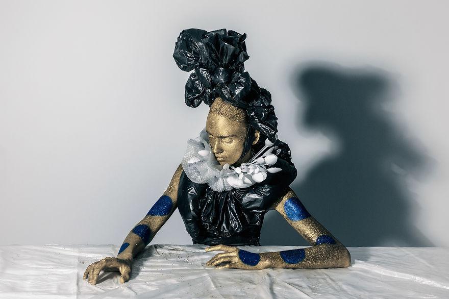 Sanata Geri Dönüşüm projesi Venera Kazarova