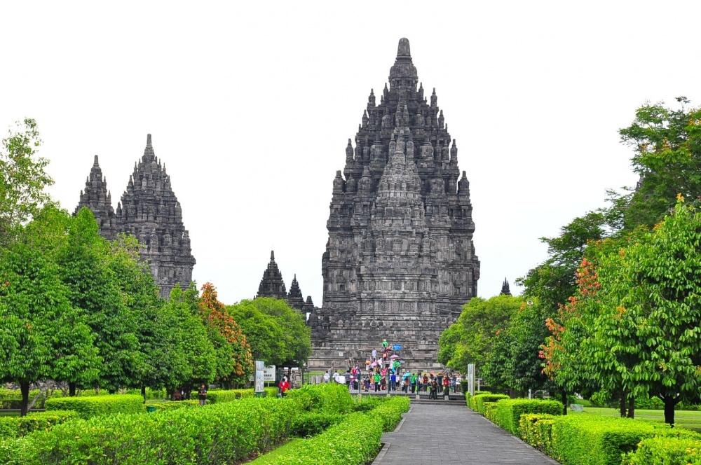 Candi Prambanan, Java, Endonezya