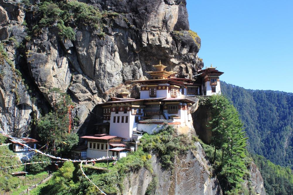 Paro Taktsang, Paro Vadisi, Bhutan