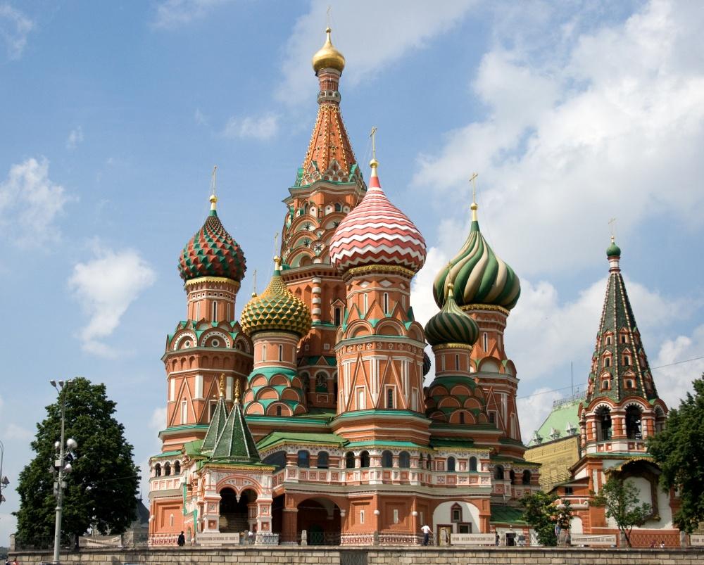 Saint Basil Katedrali, Moskova, Rusya