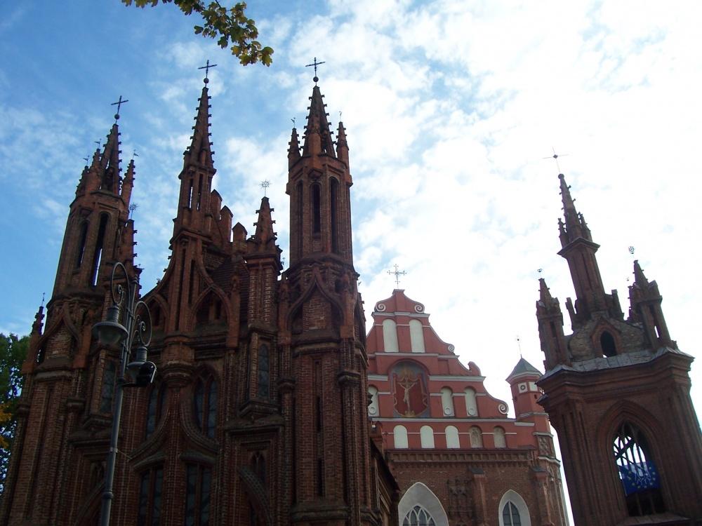 St. Anne Kilisesi, Vilnius, Litvanya