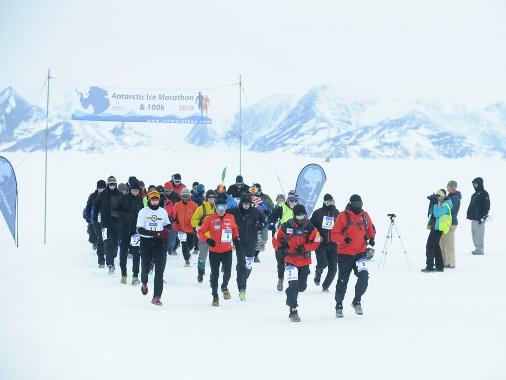 Antarktik buz maratonu
