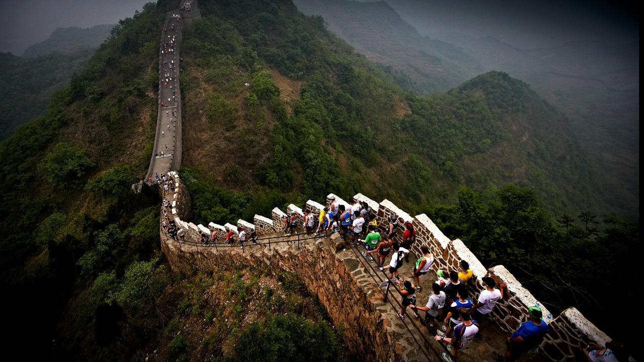 Çin Seddi maratonu