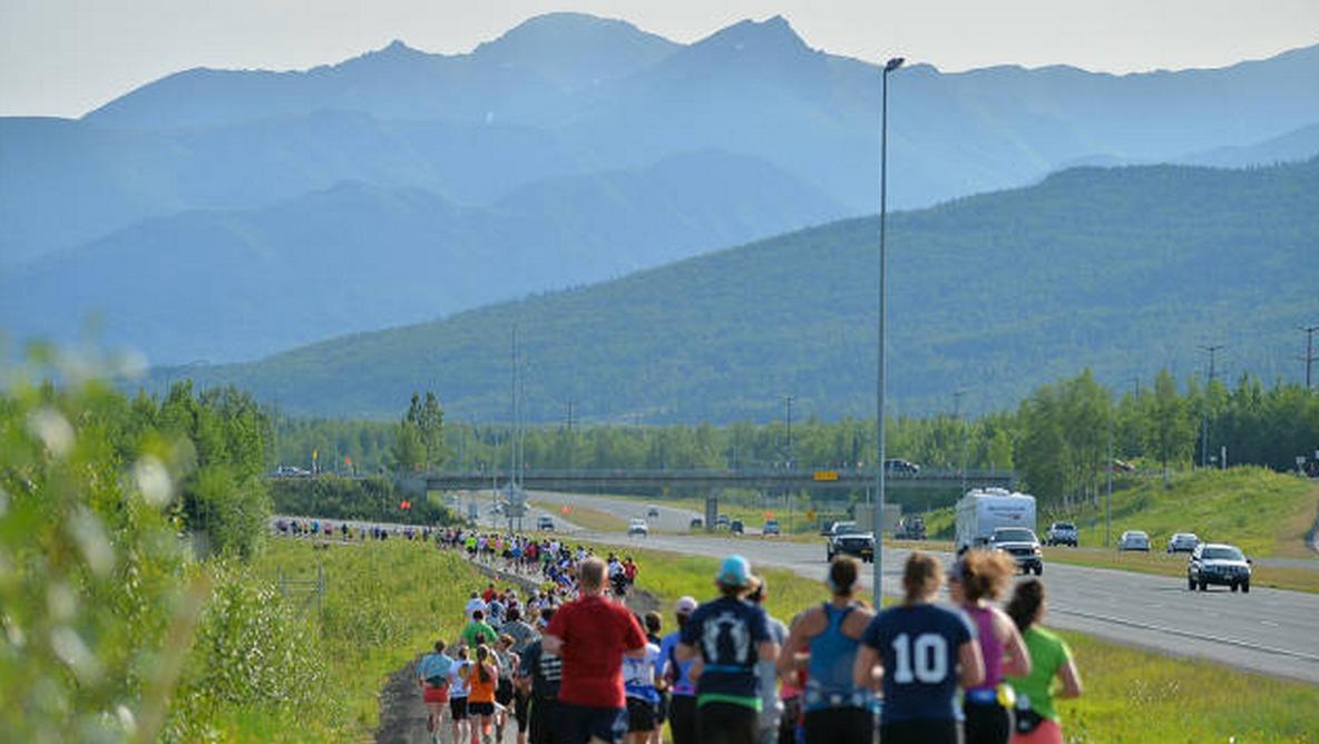 Kutup gecesi maratonu