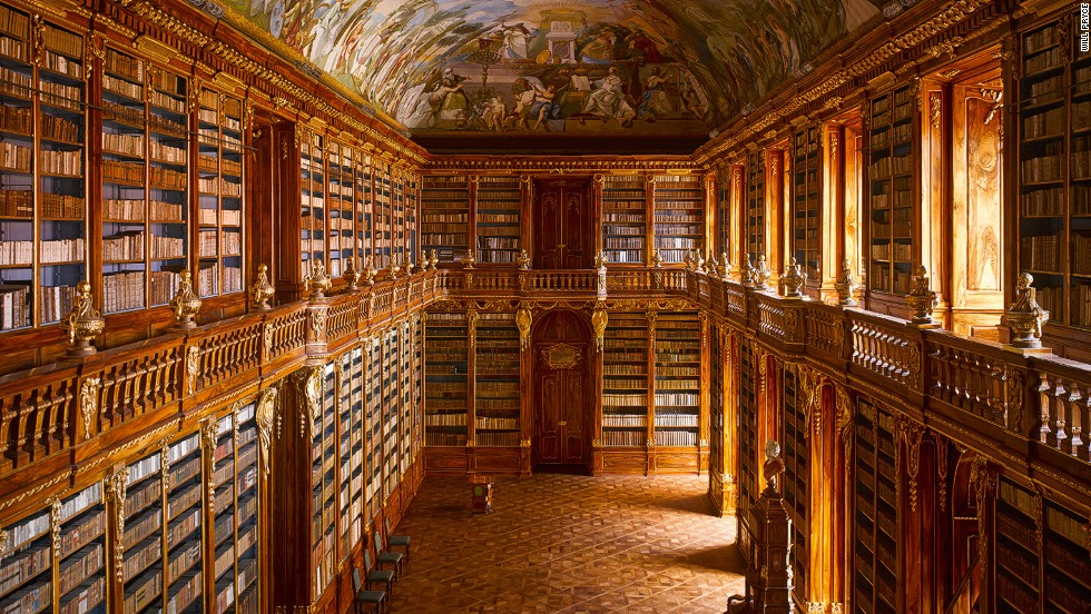 Strahov Abbey Kütüphanesi