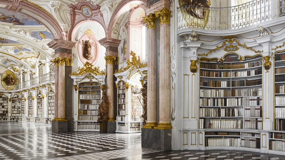 Admont Abbey Kütüphanesi