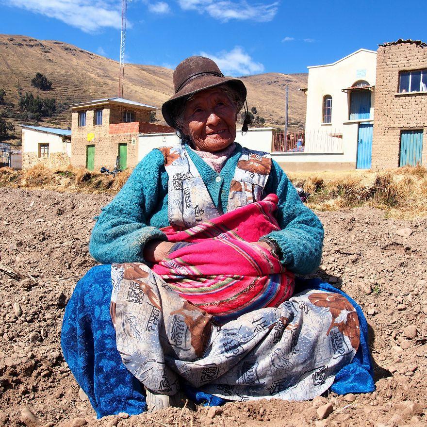 Çiftçi Braulia, Bolivya
