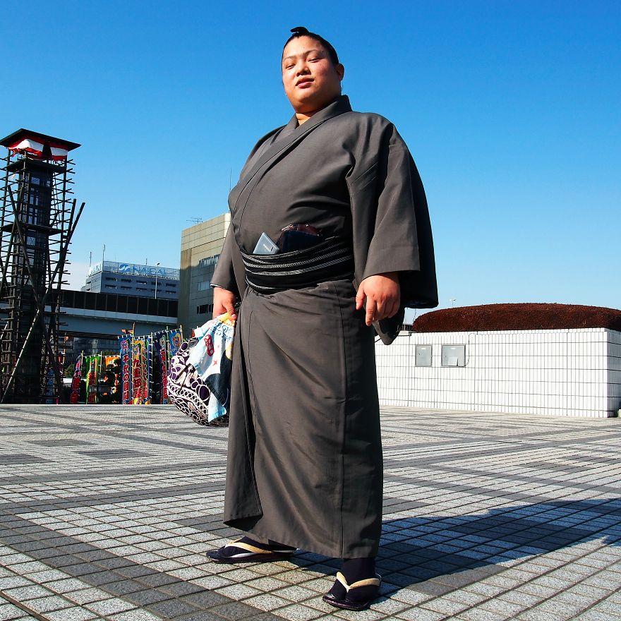 Sumo güreşçisi Tomisakea, Japonya