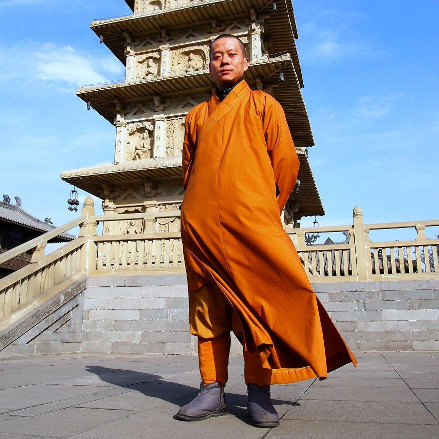 Budist tapınağı koruyucusu Wui Bing, Çin