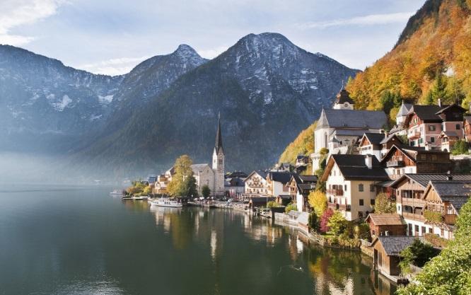 Hallstaetter Gölü, Avusturya