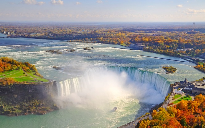 Niagara Şelaleleri, Kanada